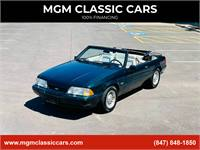 1990 Ford Mustang 7 UP 5.0 LX CONVERTIBLE LOW MILES