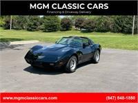 1979 Chevrolet Corvette L82 BLACK STINGRAY-4 SPEED WATCH VIDEO!