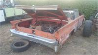 1960 lincoln continental MK V convertible-very rare---great for resto or parts