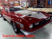 1971 Mustang CobraJet Ram Air 4 Speed w Factory A/C