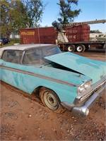 1959 Ford Fairlane Skyliner w/ retractable hard top, barn find, been in storage for over 30 years