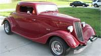 1934  Ford Coupe   Custom Motor Coach Kit