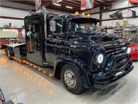 New Build Rare 1956 GMC F353 COE Cab Over Hauler