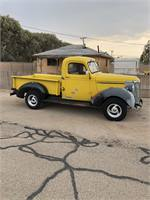 1940 1/2 Ton, 4 Speed, Chevy Pick Up