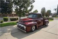 56 FORD F100 GROUND UP RESTORATION - A SHOW STOPPER!