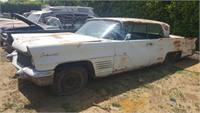 1960 lincoln continental 2dr cpe--stripping forPARTS