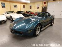 1980 bLUE bLUE Corvette For sale