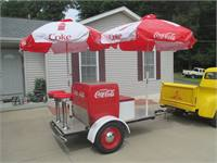 Coca Cola Street Rod Luggage Trailer