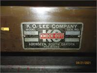 K.O. Lee Company Model: R204 Knock Out Tool Set
