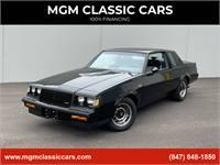 1987 Buick Regal BRAND NEW GN-ONLY 139 ORIGINAL MILES- ORIGINAL