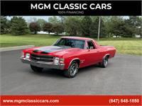 1971 Chevrolet El Camino CRANBERRY RED SS REPLICA