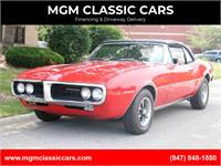1967 Pontiac Firebird 326 V8 NICE RED CONVERTIBLE WITH 4 SPEED ONLY 42K