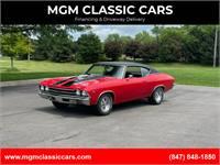 1969 Chevrolet Chevelle FRAME OFF RESTORED 502 Engine WATCH VIDEO!