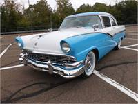 1956 FORD FAIRLANE CLUB SEDAN 302 V-8 , C-6 , A/C POWER DISC BRAKES