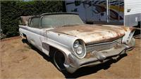 1958 lincoln continental mk 3 convertible--PARTS