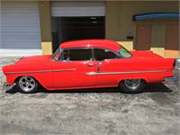 55 Chevy show car