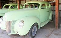 1940 Ford 4 Door Sedan Project Car