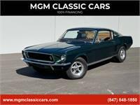 1967 Ford Mustang BULLITT 4Spd 27k ORIGINAL MILES FASTBACK 289