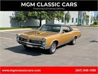 1967 Pontiac GTO NUMBERS MATCH 400CI - AUTO - PHS DOCUMENTED